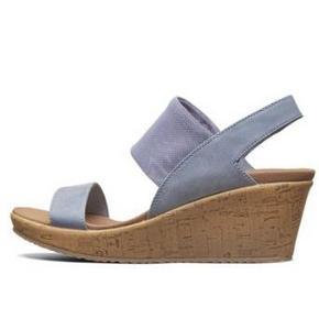 Skechers 斯凯奇 女款原木色坡跟鞋 189元(需用券)
