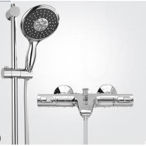 双11预告: GROHE 高仪 26112000+34598000 恒温带下出水淋浴花洒套装 1423元包邮(