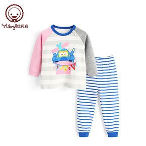 Yobeyi 优贝宜 Y2538201C女童 内衣套装 24.95元包邮(1件5折)