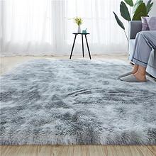 冠研 北欧扎染多色毛绒地毯 40*120cm 6.8元包邮 ¥7