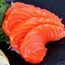 鲜有汇聚冰鲜三文鱼中段日料刺身拼盘新鲜生鱼片即食海鲜三文鱼肉 62.99元