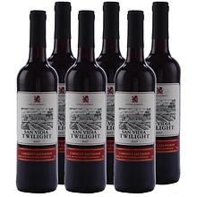 25日0点、88VIP:圣威迪亚暮光 赤霞珠干红葡萄酒 14度 750ml*6支 113.52元包邮(