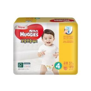 HUGGIES 好奇干爽成长裤 L号31片 42.38元包邮 ¥42