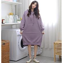 韩都衣舍 EQ12889 女士卫衣连衣裙 低至104.25元 ¥104