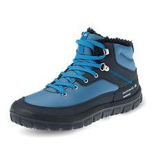 迪卡侬官方旗舰店儿童棉鞋女童加厚加绒童鞋男童保暖冬季冬鞋QUJR 99.9元