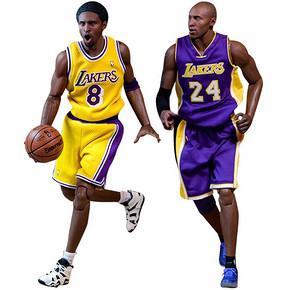 玩模总动员:那些叱咤球场的NBA巨星 ENTERBAY 朗行 NBA球员系列 兵人 2699元包