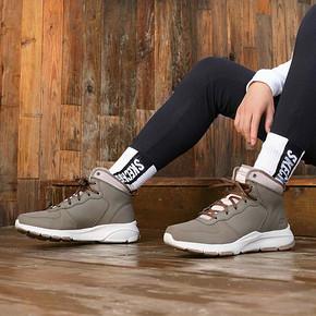 Skechers 斯凯奇 52878C 男鞋复古拼接工装鞋绑带户外休闲鞋休闲靴 299元