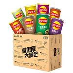 88VIP:乐事 薯片罐装组合大礼包 776g *4件 ¥90