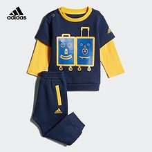 阿迪达斯(adidas) 婴童印花套装 179元