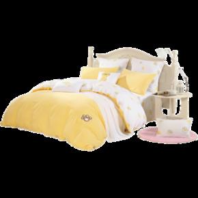 26日10点:MERCURY 水星家纺 简夏遇 床上四件套 1.2m床 229元包邮 ¥229