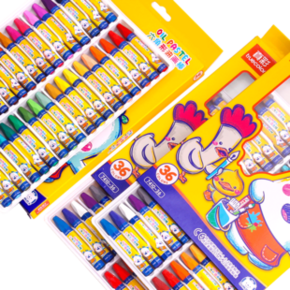 TRUECOLOR 真彩 油画棒 36色 送图画本 9.6元包邮 ¥10