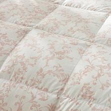 罗莱家纺羽绒被芯冬被鸭绒被保暖冬被子1.8米水洗白鸭绒加厚双人 1599元