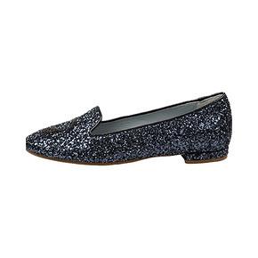 ¥912包邮 CHIARA FERRAGNI花朵眼睛装饰圆头平底鞋女单鞋百搭
