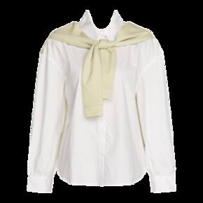 Cache Cache 捉迷藏 9419031839 女士披肩白衬衫 53元 ¥53