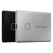 新品发售:三星USB3.2高速金属T7移动固态硬盘2T指纹识别加密外置便携迷你 31