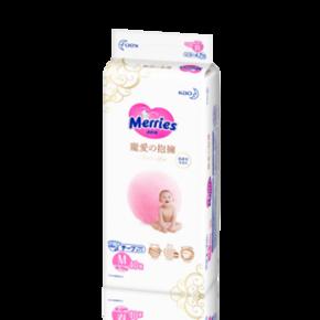 88VIP:Merries 妙而舒 宠爱拥抱腰贴式 婴儿纸尿裤 M40片 *2件 +凑单品 106.49元包