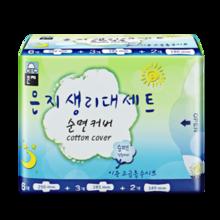 88VIP:Eun jee 恩芝 日夜卫生巾套装11片(日用6片+夜用3片+迷你巾2片) *10件 89