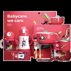 babycare经典儿童餐具五件套礼盒 179元包邮(需定金20元) ¥179