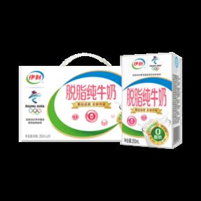 伊利 脱脂纯牛奶 250ml*24盒 *2件 84元(2件5折) ¥84