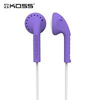 高斯(KOSS) KE10 平头耳机 16元