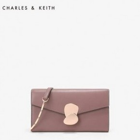 天猫 24日0点:CHARLES&KEITH CK6-10770330 女士单肩长款钱包 199元