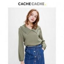 天猫 CacheCache 9419036576 女士设计感轻熟衬衫 48元包邮