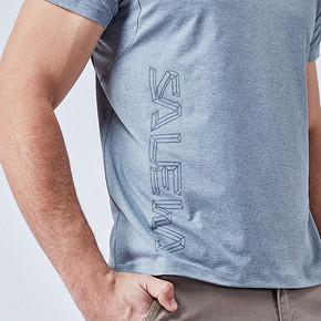 salewa沙乐华男士运动修身透气户外T恤短袖026537 99元