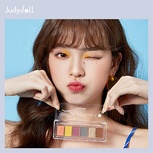 Judydoll 橘朵 玩趣六色眼影盘 *2件 99.6元(合49.8元/件)