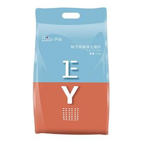 elite伊丽猫砂20斤柚子味10公斤除臭结团膨润土猫沙10kg猫咪用品 7.9元