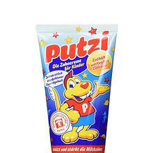 88VIP: Putzi 璞慈 儿童防蛀牙膏 50ml 草莓味 *2件 14.6元包邮(合7.3元/件)