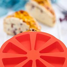 ¥9.9包邮 铂金硅胶八分司康模具蛋糕烘焙小蛋糕三角DIY西瓜模面包工具家用