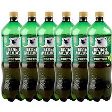 俄罗斯进口啤酒大白熊啤酒精酿1.5升6瓶整箱啤酒包邮贝里麦德维熊 88元