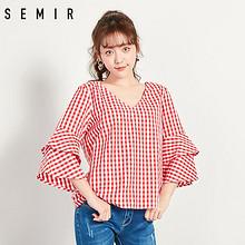 Semir 森马 19-038040321 女士格纹衬衫 ¥29.99