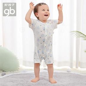 好孩子 宝宝纯棉短袖连体服 薄款夏装 69元