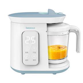 bearock婴儿辅食机多功能蒸煮搅拌一体宝宝辅食料理机研磨碗器 318元