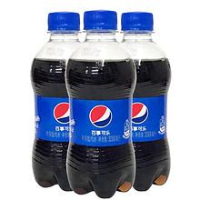百事可乐300ml*12/24瓶碳酸饮料迷你瓶装可乐汽水饮品 11.8元