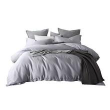 61预告:LENCIER 兰叙 60支长绒棉纯色三件套 床笠款 1.2m床 259元包邮