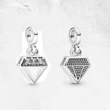 天猫 1日0点:潘多拉 Pandora Me 我的璀璨钻石 925银吊饰 74元包邮