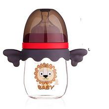 1日0点、61预告:小白熊 婴儿玻璃奶瓶 160ml *2件 73.5元包邮(合36.75元/件)