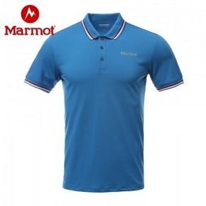 天猫 Marmot 土拨鼠 H63927 男士速干POLO衫 169元