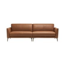 6日0点:小米 8H Alta轻奢意式真皮天然乳胶沙发 三人位 3899元包邮