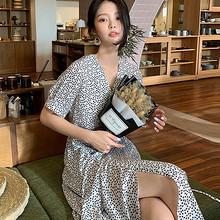 韩都衣舍 GQ10536 女士雪纺连衣裙 77.4元