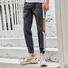 衣品天成2019冬季新款男士休闲长裤潮流韩版直筒宽松束脚运动裤子 *2件 209