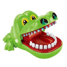 杰星 咬手指鳄鱼玩具 15*13*10cm 无声款 5.9元包邮