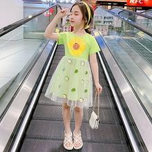 女童连衣裙夏装2020新款韩版女孩超洋气公主裙儿童装夏季网红裙子 58元