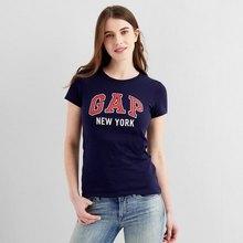 聚hua算百亿补贴: Gap 盖璞 260202 女士短袖T恤 ¥42