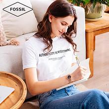 Fossil时尚满天星空表ins风镶钻蓝色表盘玫瑰金手表女ES4522 715.83元