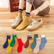 【10双】纯棉日系中筒堆堆袜女