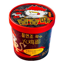 【吉吉咔】超辣干拌火鸡面6桶