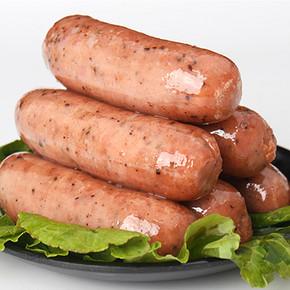 【奇盛】火山石纯肉烤肠500g10根